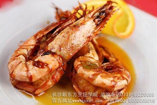 虾油焖大虾图片