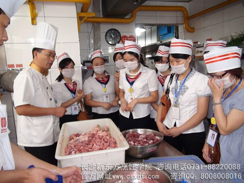 西餐学校哪个好新东方厨师培训