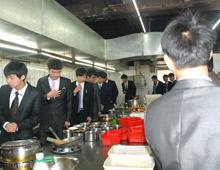 长沙新东方学子参观老妈家庭厨房