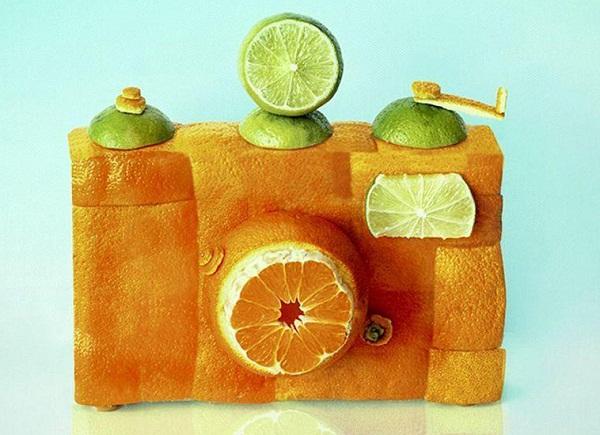 艺术家dan cretu将日常食物塑造成精美绝伦的雕塑品,一起来看看另类的食物雕塑吧.