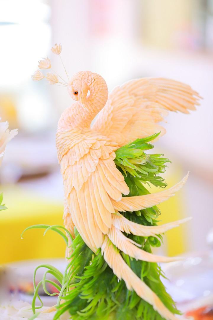 长沙新东方烹饪学院中餐宴席作品1