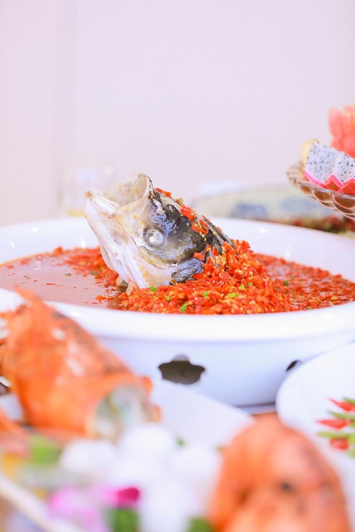 长沙新东方烹饪学院中餐宴席作品4